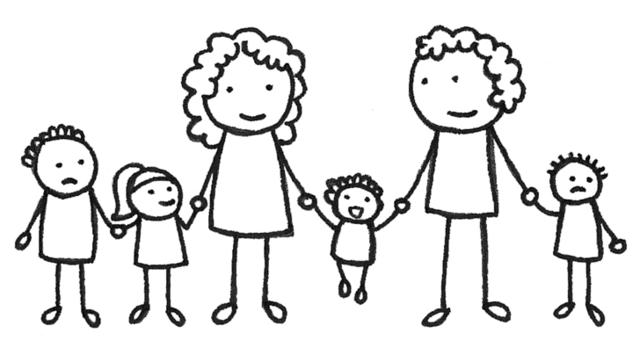 Gezinstherapie voor samengesteld gezin